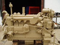 Caterpillar D315 engine graphic