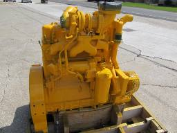 Allis Chalmers 7000 engine