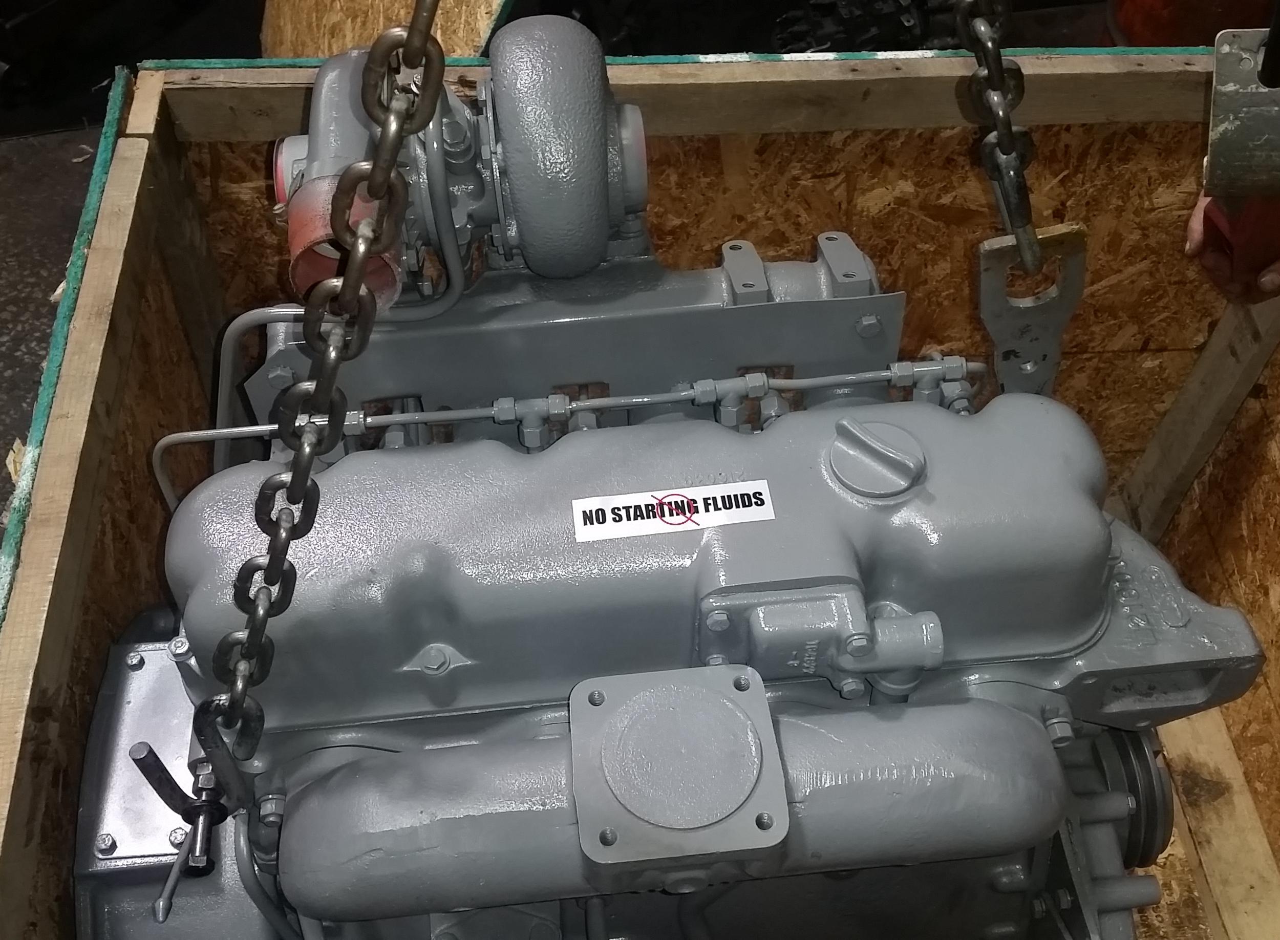 Allis Chalmers Diesel Engine, Allis Chalmers Engine Part
