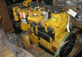 CAT C7 225 hp engine