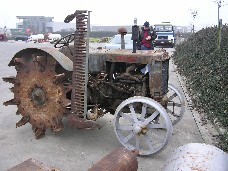 Waukesha engine in Case tractor