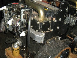 CAT 3054T High Mount Turbo engine