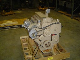Crated Cummins engine