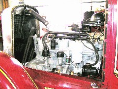 Hahn fire pumper engine