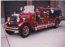 Hahn fire pumper