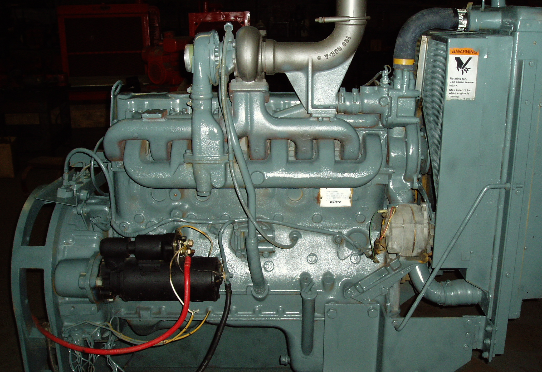 6 Cylinder Hercules Gas Engines 6 Free Engine Image For
