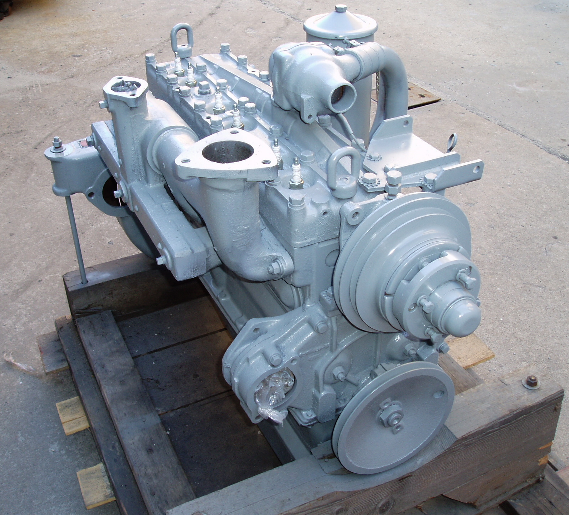 Hercules Jxld Engine Front