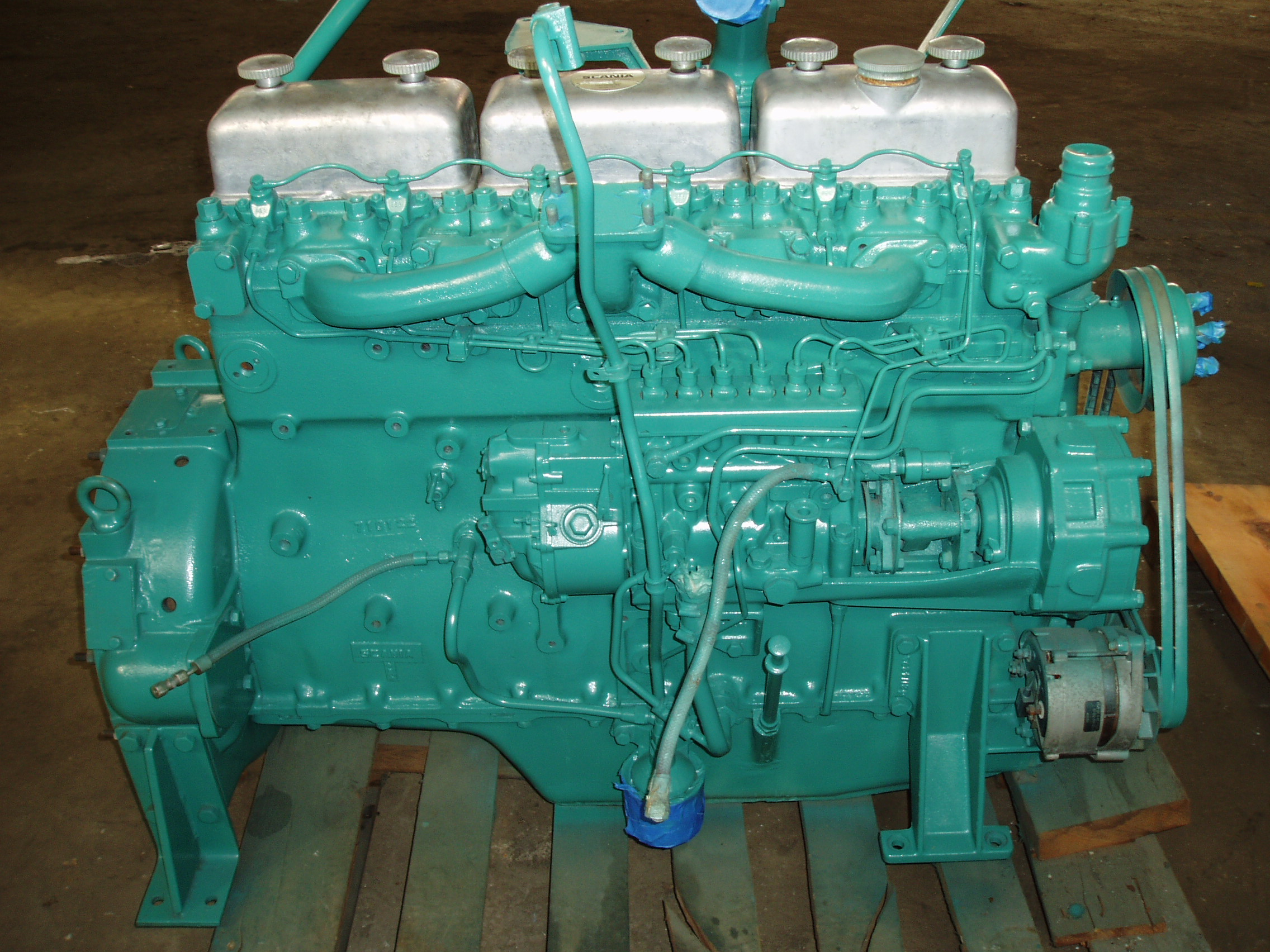 scania ds8 scania ds8r40 and scania ds802 engines cylinder head rh jobbersinc com Scania Truck Engines Scania Engine Model