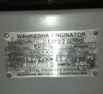 Waukesha 135DKU Engine Water Pump
